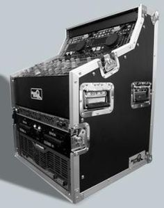 Road Ready Cases RRDJWS6 3 Section Case For Dual Bay CD Player and 19inch Mixer - At Acclaim Sound