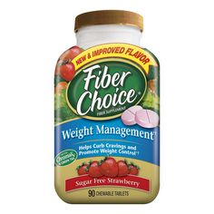 Fiber Choice�  Strawberry Sugar Free Weight Management Chewable Tablets