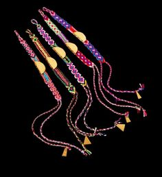 friendship bracelets by Lucy Folk