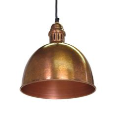 This antique-style pendant light is beautifully copper plated and UL approved. It hangs most beautifully above your workspace or dining room table in a room that also loves metals, coppers, brasses, an...  Find the Antony Copper Plated Pendant Light, as seen in the Industrial Impressions Collection at http://dotandbo.com/collections/industrial-impressions?utm_source=pinterest&utm_medium=organic&db_sku=104141