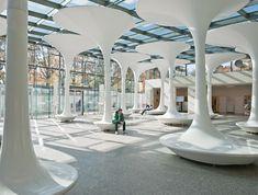 *포이어 예술조형물 화이트 트리 [ Querkraft Architects ] TMW Technical Museum Entrance :: 5osA: [오사]