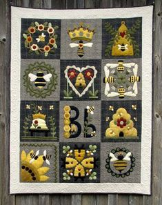 Applique Quilt PATTERN - Blessed Bee - WSD
