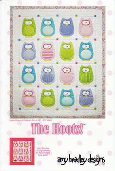 The Hoots Quilt Pattern-Amy Bradley Designs