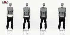 CLASSIC BACKPACK Skidcat by bagjack