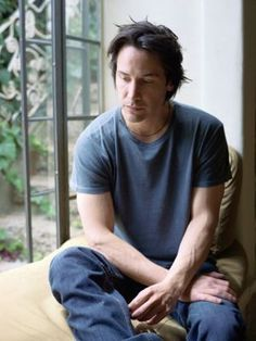 Photo of Keanu for fans of Keanu Reeves.