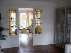 Glas in lood deuren, Rosmalen / Den Bosch