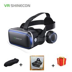 CategoriesMore New VR Glasses Remote Controllers Recommended !Casque Shinecon VR Box Virtual Reality Glasses 3 D Goggles Headset Helmet For Smartp Virtual Reality Glasses, Virtual Reality Headset, Vr Shinecon, Focal Distance, Vr Box, 3d Video, All Smartphones, Technology World, Vr Headset