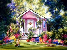 garden-cabin-wallpaper.jpg (1024×768)