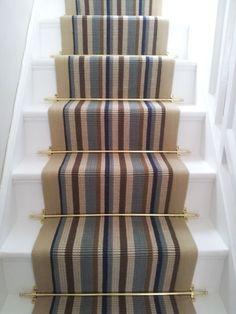 Brintons Carpets Laura Ashley Kenilworth Gold Stair Runner (per M ...