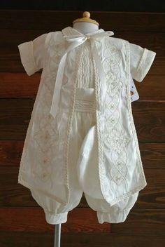 Boy christening outfit, Baptism pants, baptism break boy Christening suit boys, boy christening robe, swimsuit child baptism by FANNYCARMENDESIGN on Etsy https://www.etsy.com/listing/289981547/boy-christening-outfit-baptism-pants