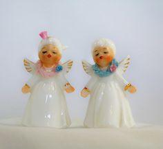 Vintage Napcoware Kissing Angels Bone China by AuntDarlenesAttic,