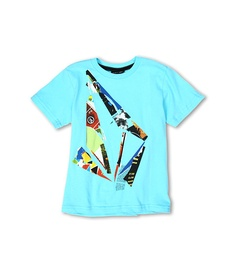 Volcom Kids Scrap Stone S/S Tee (Toddler/Little Kids) Blue Drift - Zappos.com Free Shipping BOTH Ways