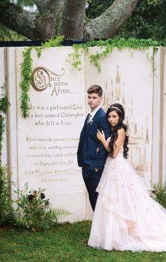 fairy tale wedding backdrop