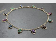 This would be a pretty anklet