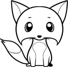 Art lessons for kids. Step by step drawing for beginners - CHAMELEON and CARTOON FOX