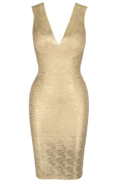 New Ladies Long Gold Foil Pencil Midi Dress Bodycon Party Dresses 16-26