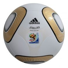 Jo'bulani - the Gold Final Official Match Ball for the 2010 FIFA World Cup South Africa.