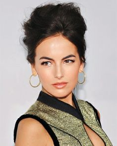 camilla bell. Love how simple yet elegant her makeup looks are
