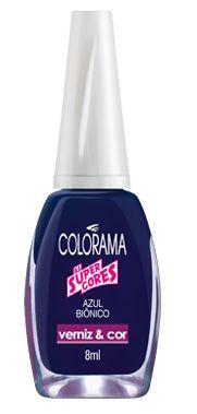 como não gostar deste azul biônico da Colorama?