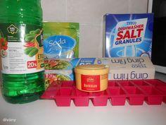 mosogatógép tabletta házilag Household Chores, Minimalist, Cleaning, Bottle, How To Make, Diy, Homemaking, Bricolage, House Chores