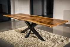 #table walnut www.drewbetex.pl