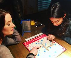 chy_leigh: #Sanvers for the win? @florianalima @thecwsupergirl