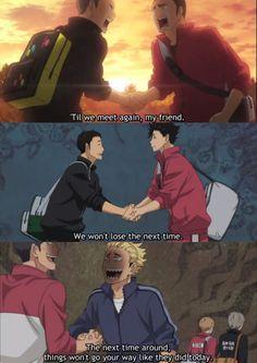 ahahahahah bests are Tanaka&Yamamoto and Ukai