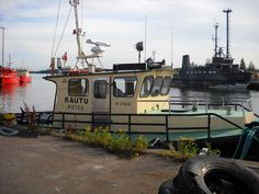 smaller tugboat, ready to Baltic Sea