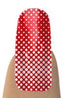 Jamberry Nail Shields, Nail Wraps - Progressive Red Dot...OU game?