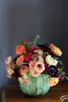 haute boheme floral arrangement