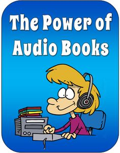 The Power of Audio Books ~ Blog article by Laura Candler with tips for using audio books in the classroom