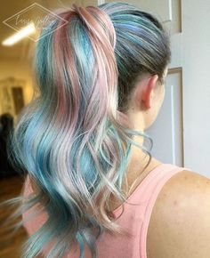 "1,036 Likes, 27 Comments - Joico Color Intensity (@joicointensity) on Instagram: ""We're just LIVING for all this Confetti Collection goodness! ✨ Beautiful ""my little pony"" by…"""