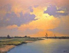 Sunrise at Oare Creek