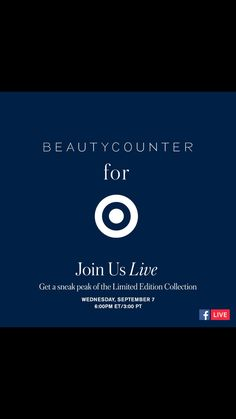 Psssst. Get a sneak peek of our NEW coveted Collection for Target! Join us on Facebook Live tomorrow, September 7th at 6PM EST/3PM PST. Don't forget to post your questions below to get the juicy details. #BCForTarget