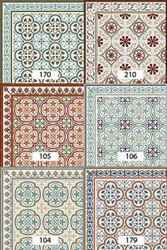 Kostenloser Versand Fliesen Muster Dekorative PVC-Vinyl von ...