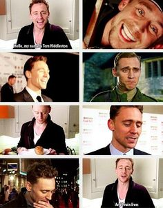 Tom Hiddleston...ruins lives.