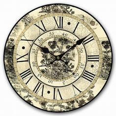 American country style home decor wooden wall clock mdf clock