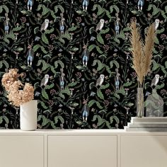 Wallpaper Paste, Wallpaper Panels, Wallpaper Roll, Peel And Stick Wallpaper, Wallpaper Murals, Animal Wallpaper, Colorful Wallpaper, Accent Wall Bedroom, Design Repeats