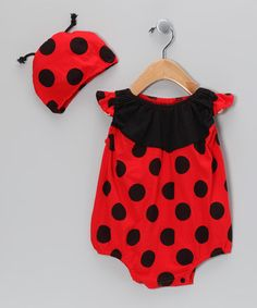 Take a look at this Red & Black Ladybug Dress-Up Set - Toddler by Bungalow BeBe on #zulily today!