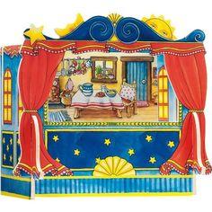 Teatro marionetas de dedos, ideal  para juegos de roles mientras estimulamos la creatividad