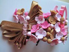 Brățări pentru domnişoare de onoare Flowers, Fimo, Florals, Flower, Blossoms