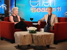 It's the best thing ever.nk on being a mom Happy Mom, Make Me Happy, Ellen And Portia, Ellen Degeneres Show, The Ellen Show, Famous Names, Music Clips, When You Love, Theme Song