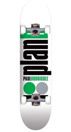 PLAN B Grenn Skateboards Paul Rodrigues