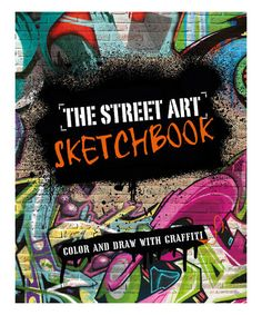 This The Street Art Sketchbook Paperback Is Perfect Zulilyfinds