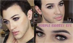 Purple Smokey Eye Makeup Tutorial w/ Tartelette Palette!   MannyMua