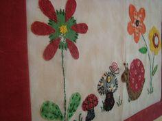 cute patchwork flowers