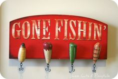 Gone Fishin' - Use Ben's Old Lures he's found