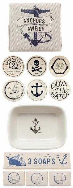 Maritime + Nautical Inspired Gifts