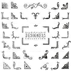 Hand Drawn Vector Design Stock Vector - Illustration of exploding, corner: 50326164 Sketch Note, Bujo Doodles, Bullet Journal Inspiration, Vector Design, Vector Art, Design Design, Design Ideas, Graphic Design, Design Studio