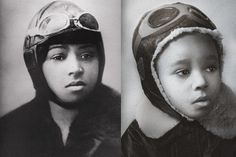 In 1921, Coleman became the first African American woman pilot. Denied admission to flying schools in the U.S., she earned her pilot's license in France and became known for stunt flying and aerial feats. (Photos: National Air and Space Museum/Public Domain; Marc Bushelle)